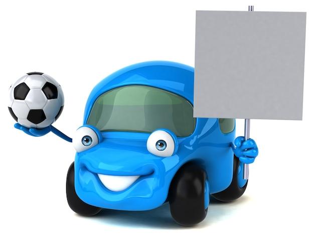 楽しい車のイラスト