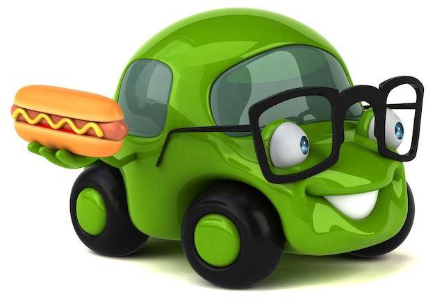 재미있는 자동차 그림
