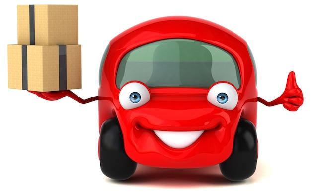 Fun car illustration