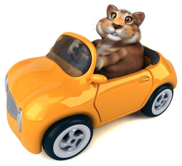 재미있는 고양이-3d 캐릭터