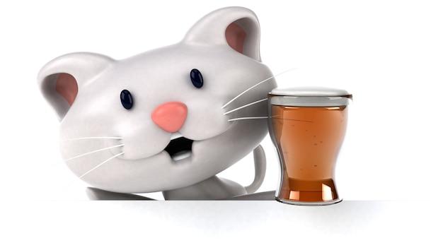 재미있는 고양이 3d 그림