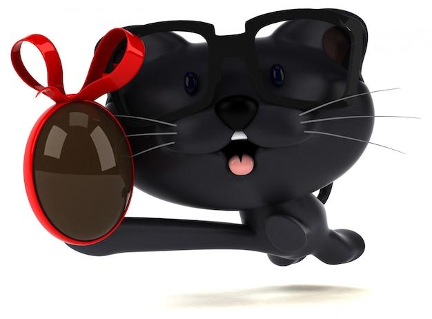 재미있는 고양이 애니메이션