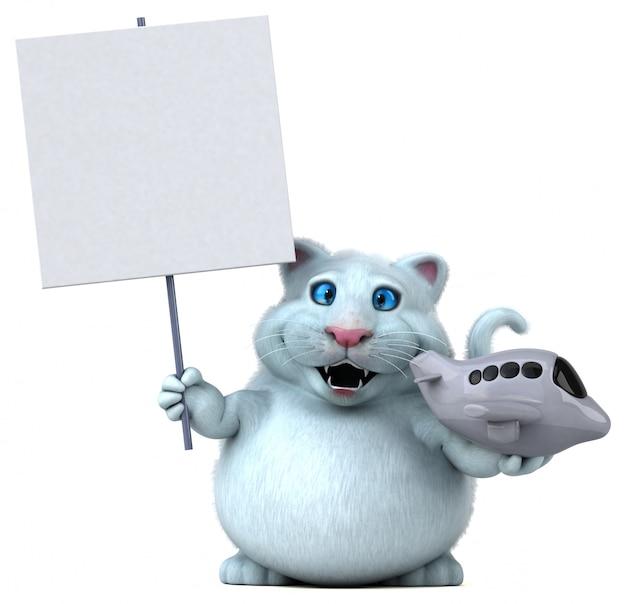 楽しい猫のアニメーション