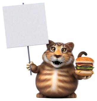 재미있는 고양이 그림