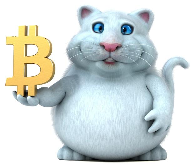 Fun cat illustration