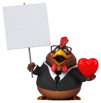 Веселая куриная анимация