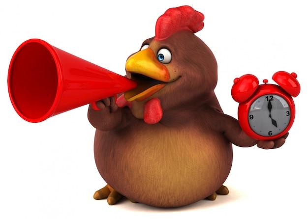 Веселая курица