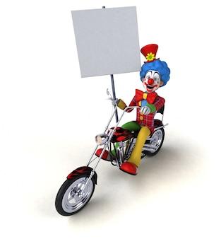 Fun clown animation