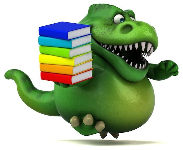 楽しい恐竜 - 3dイラスト