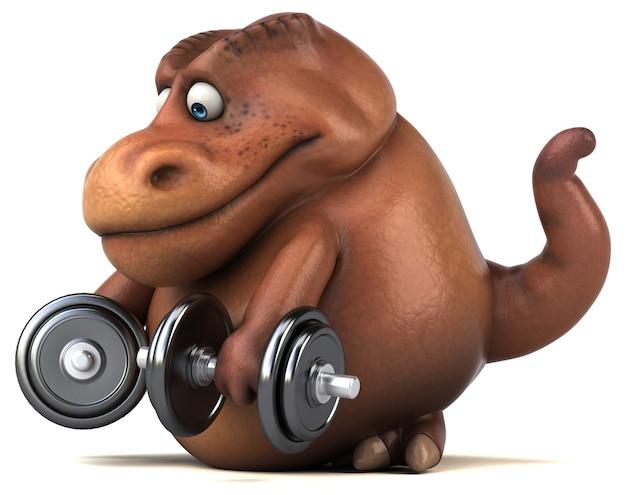 Веселая анимация динозавров