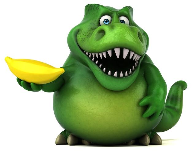 Fun dinosaur illustration