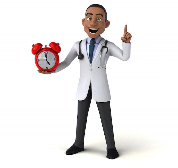 Забавный доктор - 3d персонаж