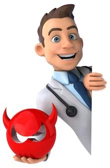 재미있는 의사 애니메이션