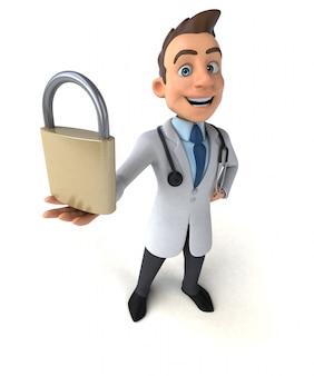 Fun doctor animation