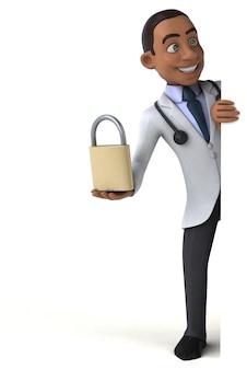 Fun doctor character