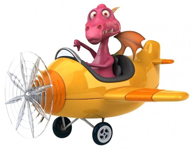 Fun dragon - 3d character