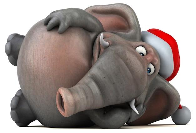 楽しい象のアニメーション