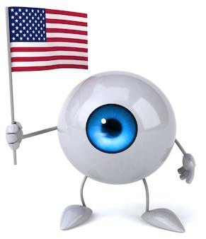 Fun eye - 3d персонаж