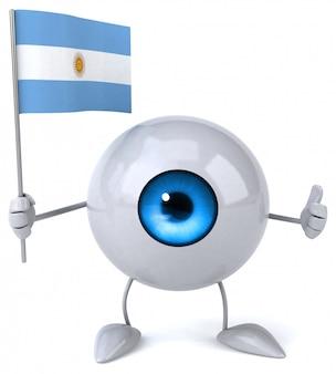 Fun eye - 3d character
