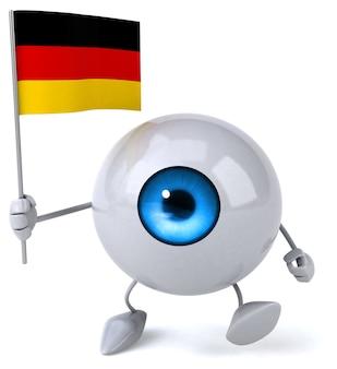 Веселая анимация глаз