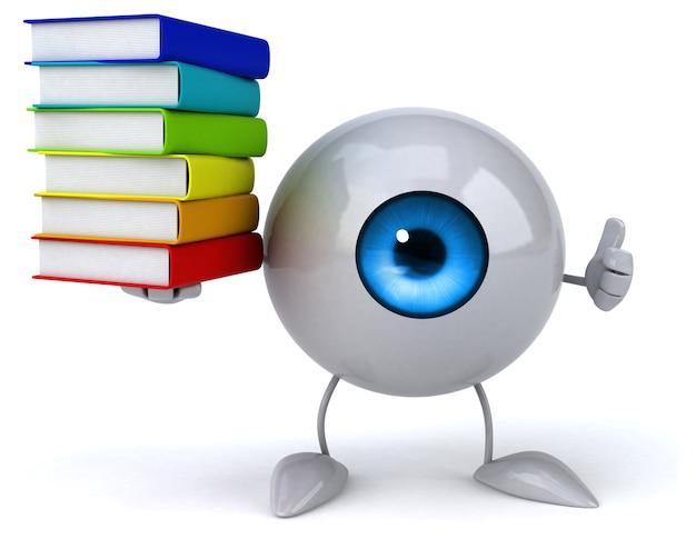 Fun eye animation