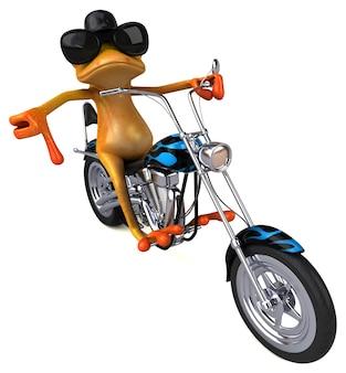 재미있는 개구리-3d 캐릭터