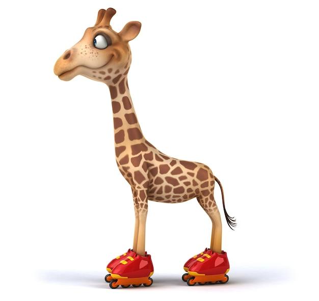 Забавный жираф