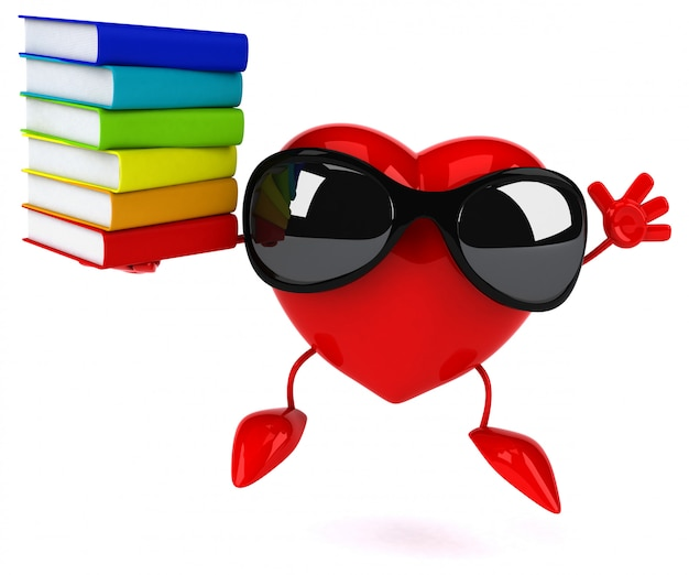 Fun heart - 3d character
