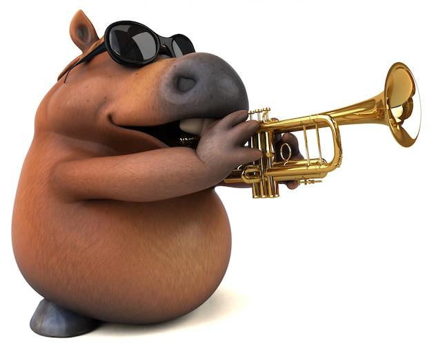 Fun horse animation