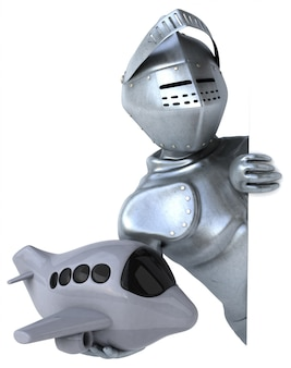 Веселый рыцарь - 3d персонаж