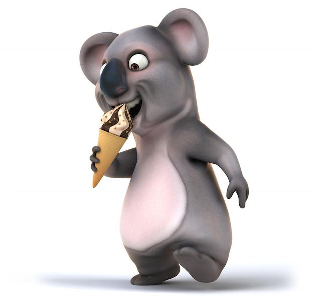 Fun koala animation
