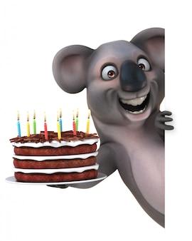 Веселая анимация коала