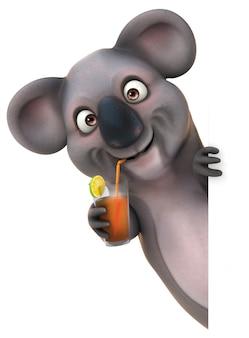 Веселая коала