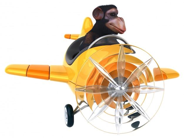 Забавная обезьяна