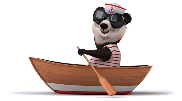 Забавная панда