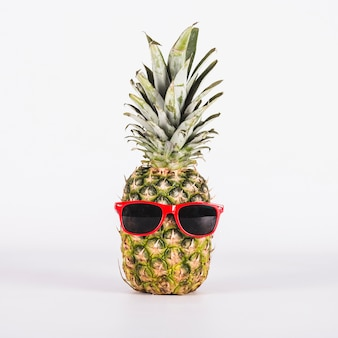 Fun pinapple with sunglasses