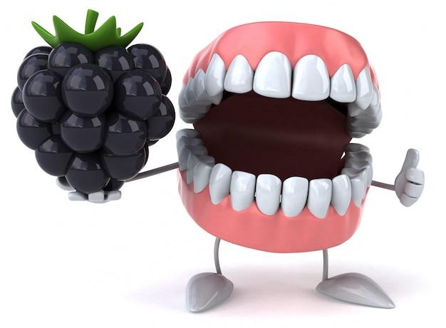 Забавные зубы - 3d персонаж