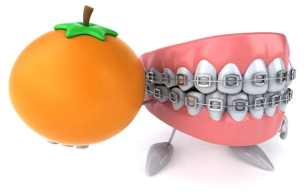 Fun teeth animation