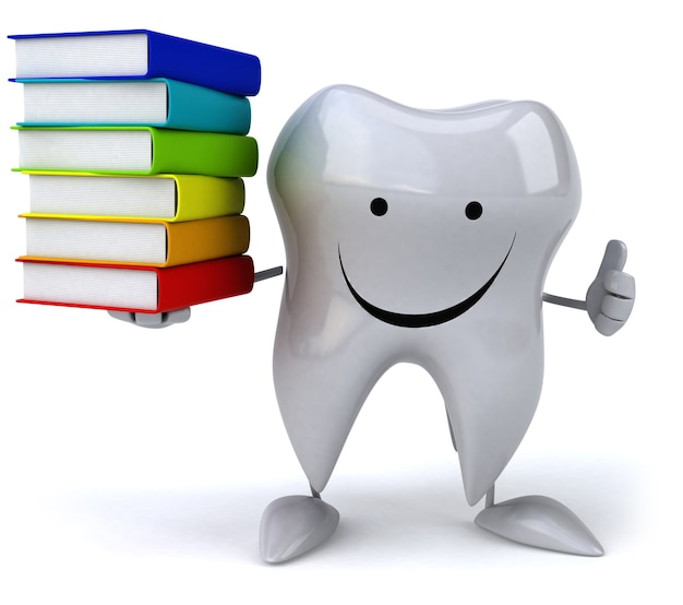 楽しい歯のアニメーション