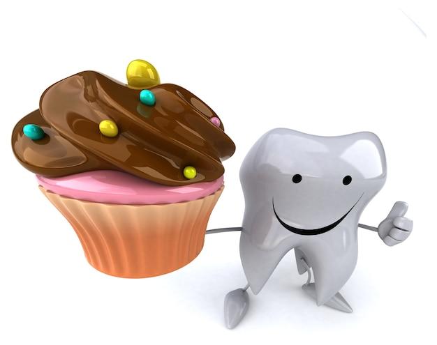 Забавная анимация зубов