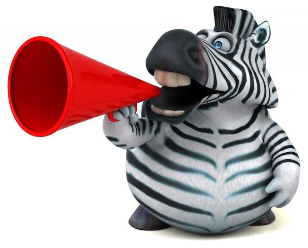 Fun zebra animation