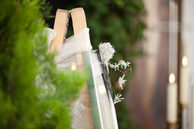 キャンドルと花と葬儀のfun