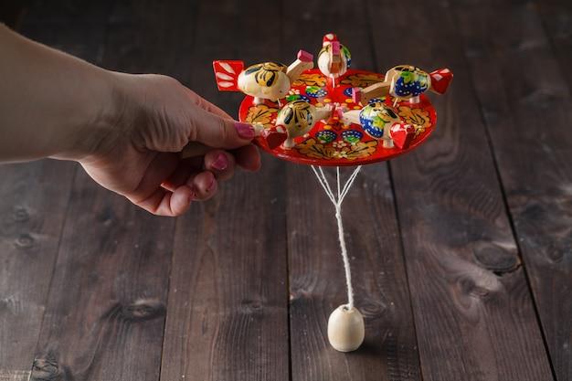 Funny chicken folk game