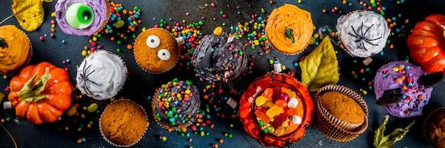 Смешные детские пирожные на хэллоуин