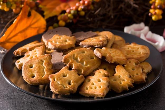 Смешное печенье на хэллоуин