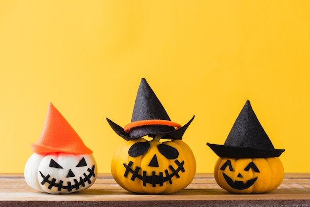 Funny halloween day decoration party