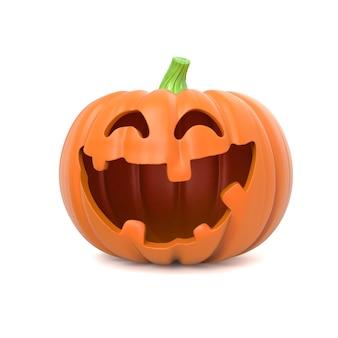 Забавная тыква на хэллоуин