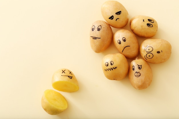 Funny potatoes