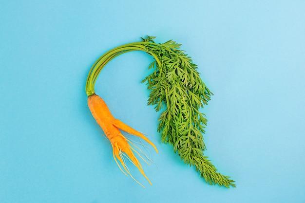 Морковь смешной формы