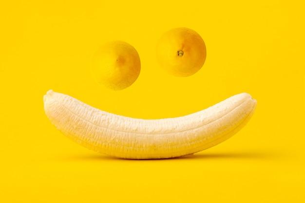 Смешная улыбающаяся морда
